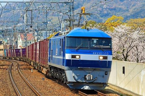 JR貨物 EF210-110号機 新塗色