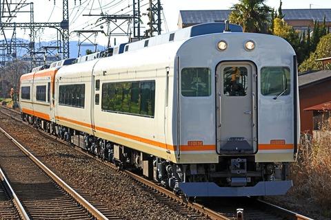 近畿日本鉄道 21000系「アーバンライナープラス」増結用UB01編成+22000系「ACE」AS23編成「試運転」