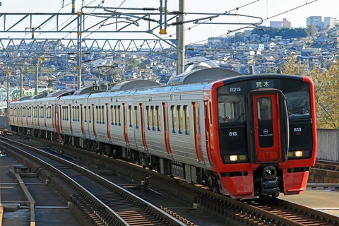 JR九州 813系200番台Rm213+1100番台Rm1115編成