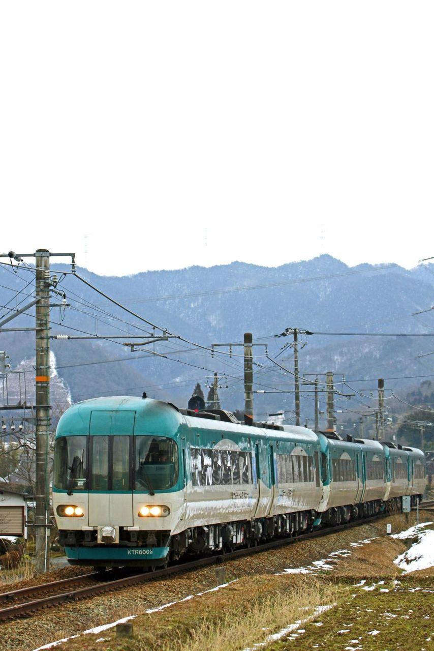 北近畿タンゴ鉄道 タンゴディスカバリーKTR8000形3連