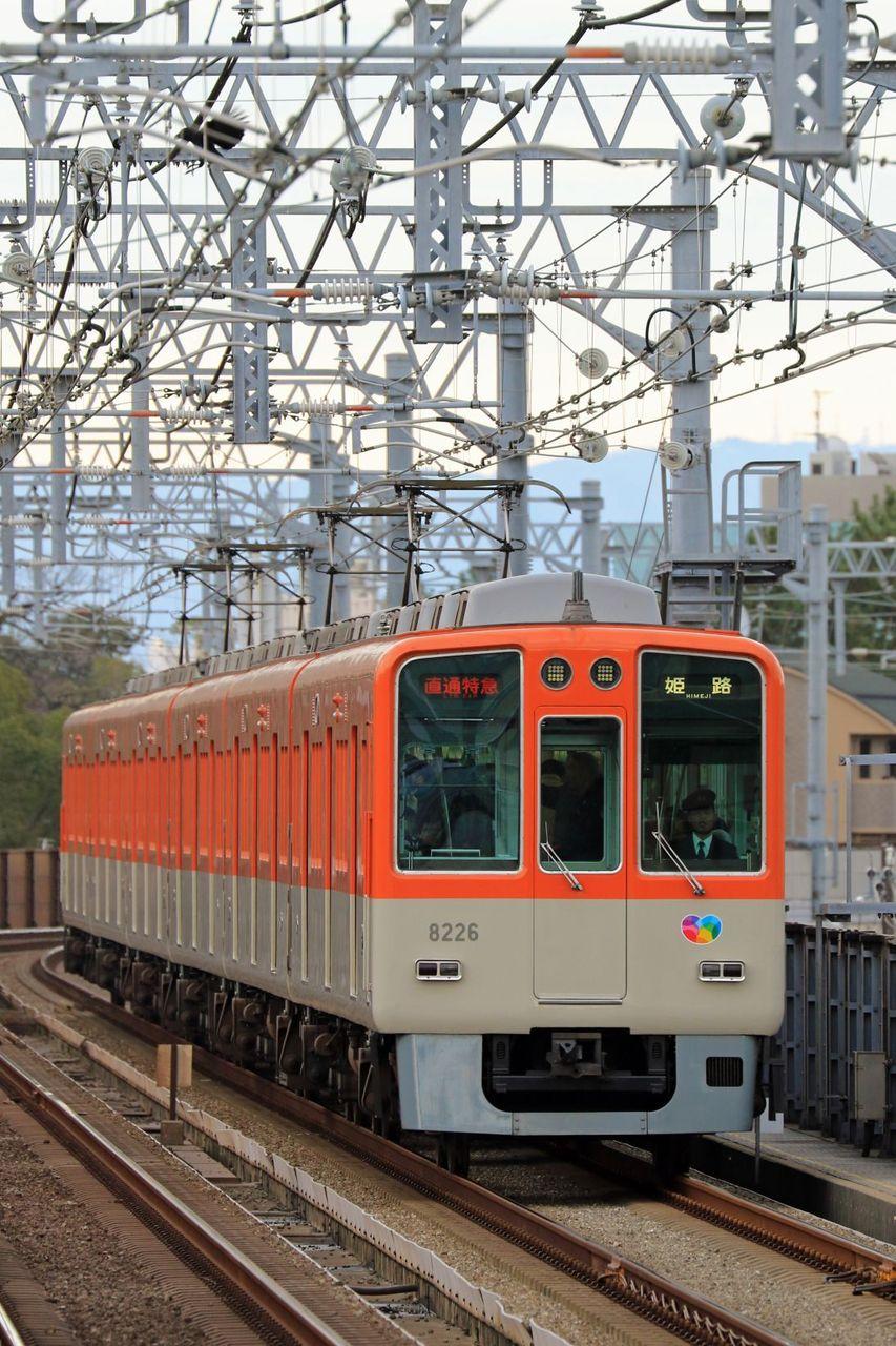 阪神電気鉄道 8000系8225F 更新色