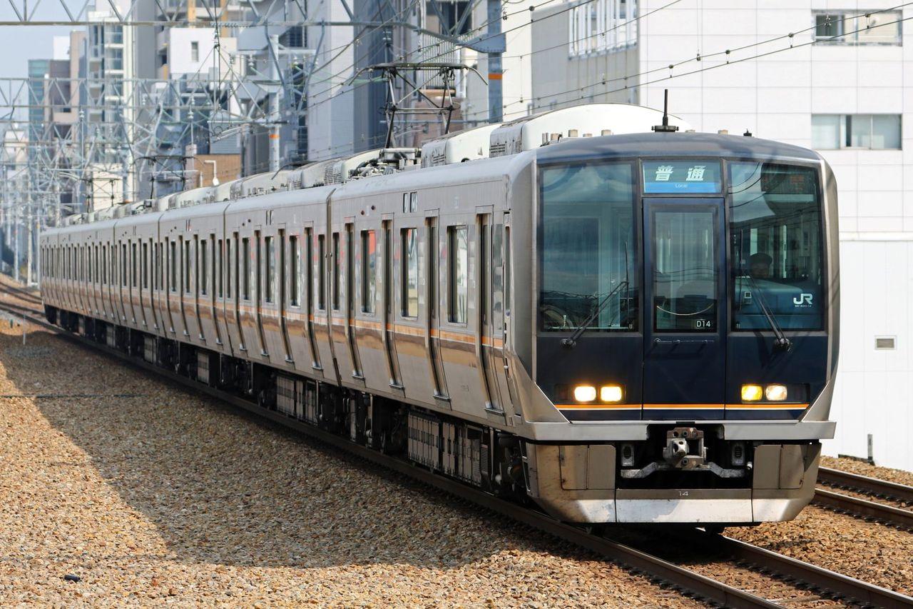 JR西日本 321系D14編成