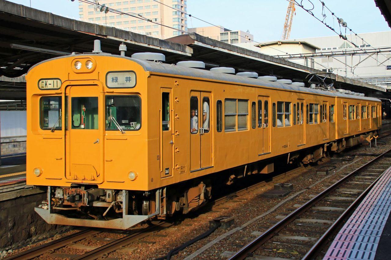 JR西日本 105系K11編成