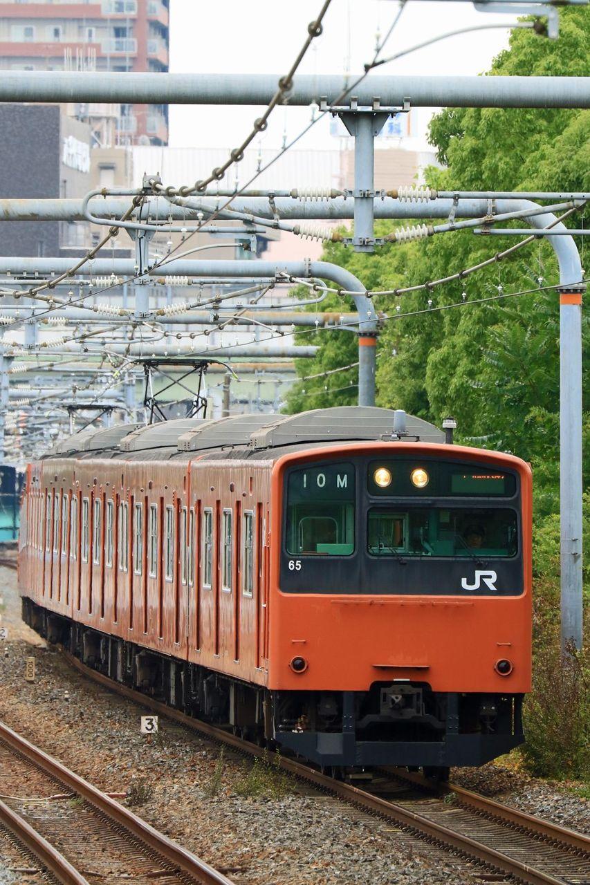 JR西日本 201系LB04編成