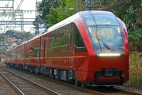 近畿日本鉄道 80000系「ひのとり」第1編成 試運転