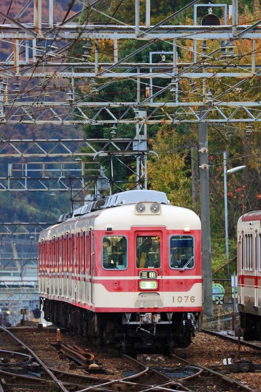 神戸電鉄 1000系1076F