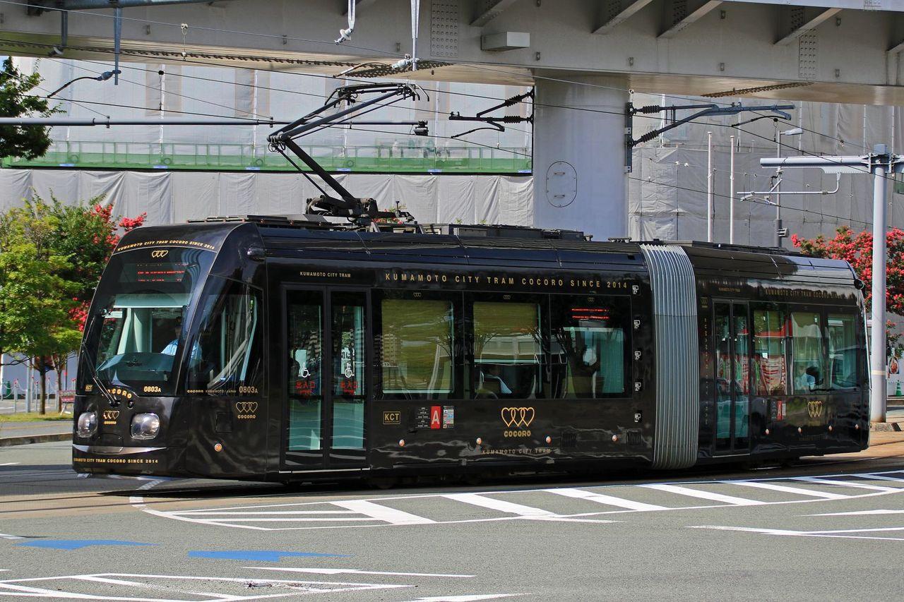 熊本市交通局 0800形0803AB「COCORO」