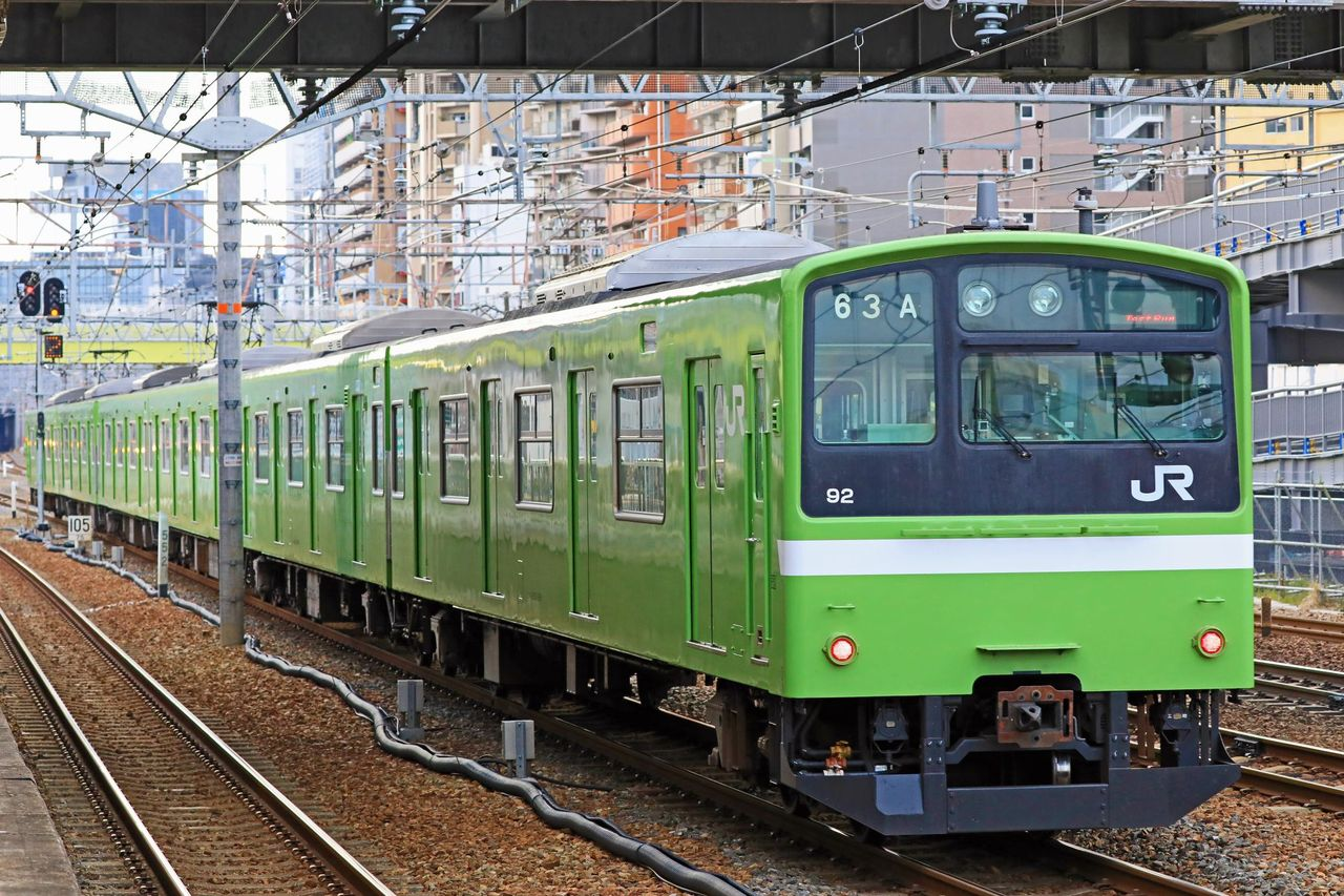 JR西日本 201系ND617編成