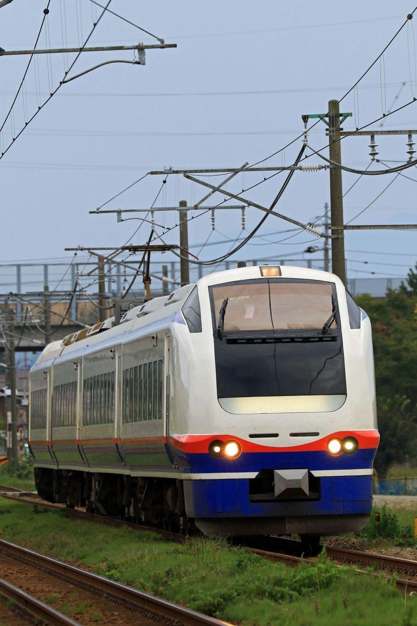 JR東日本 E653系1000番台H203編成「しらゆき」