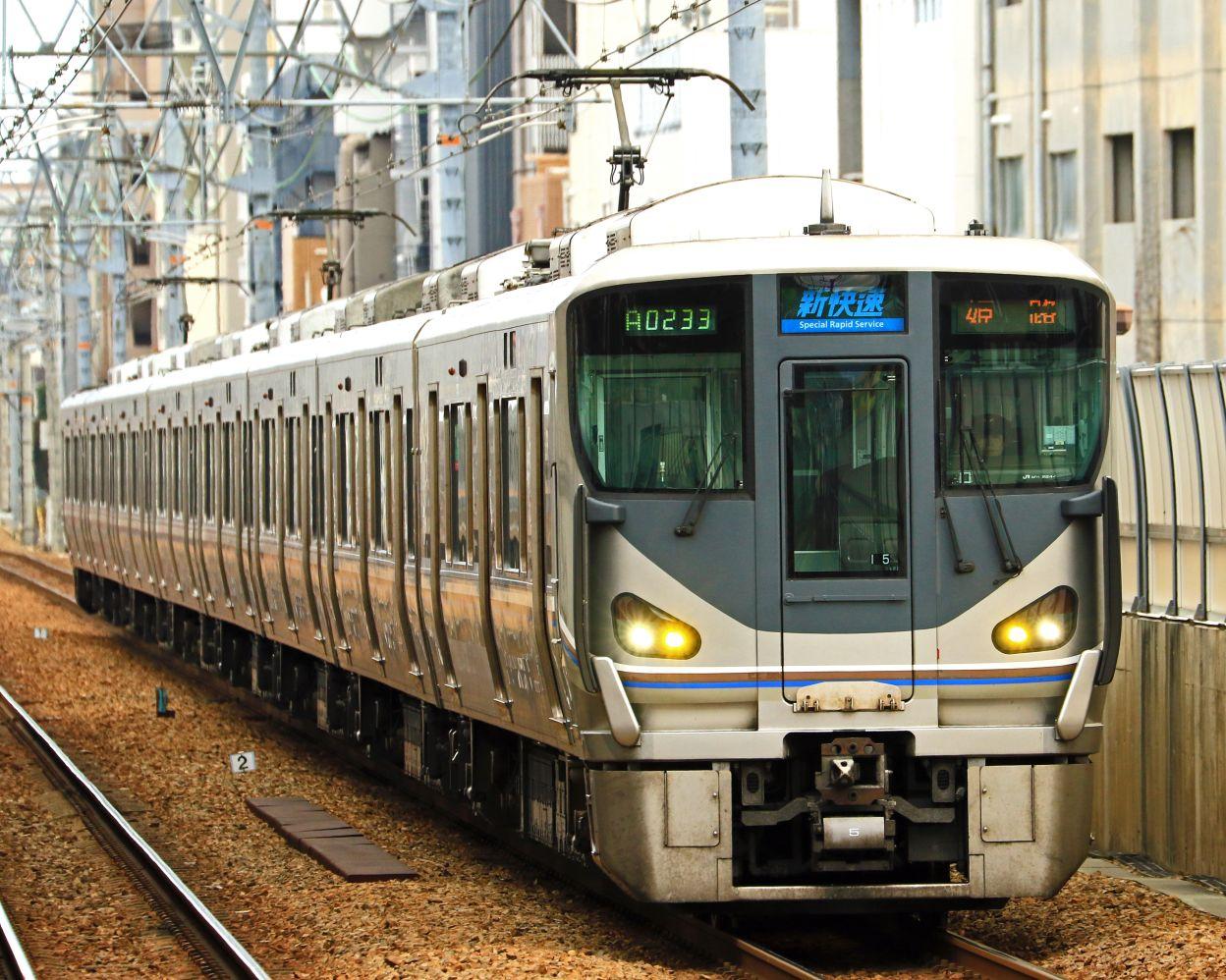 JR西日本 225系I5編成