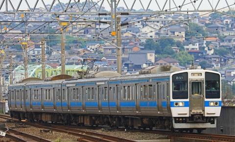 JR九州 415系1500番台Fo1521編成