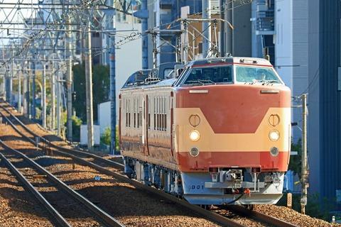 JR西日本 443系D1編成 交流直流両用電気検測車