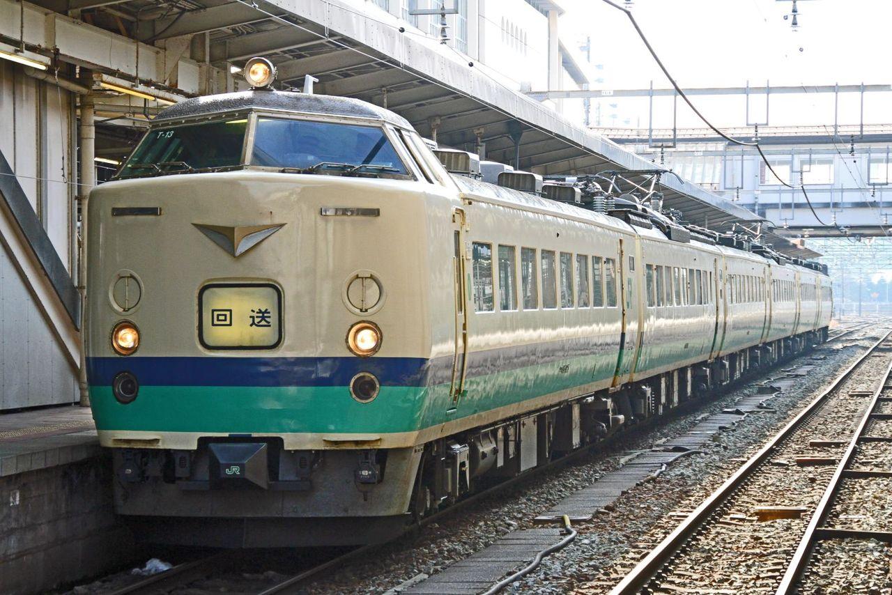JR東日本 485系T13編成 3000番台R22編成