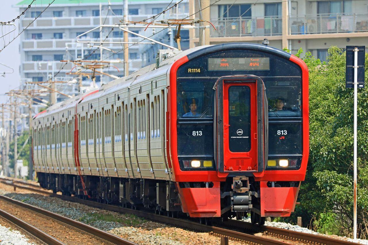 JR九州 813系1100番台Rm1114+Rm1101編成