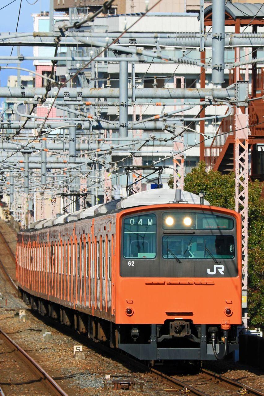 JR西日本 201系LB02編成