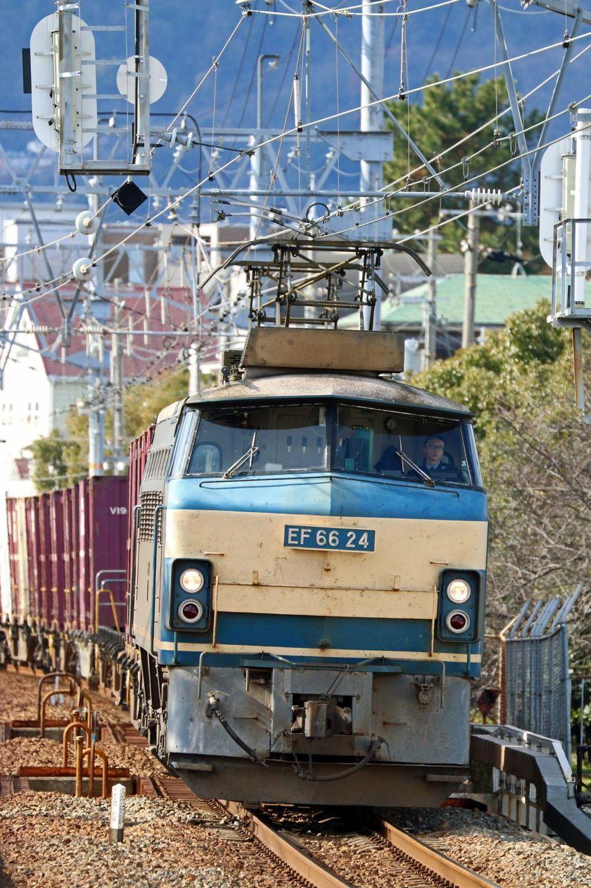 JR貨物 EF66-24号機