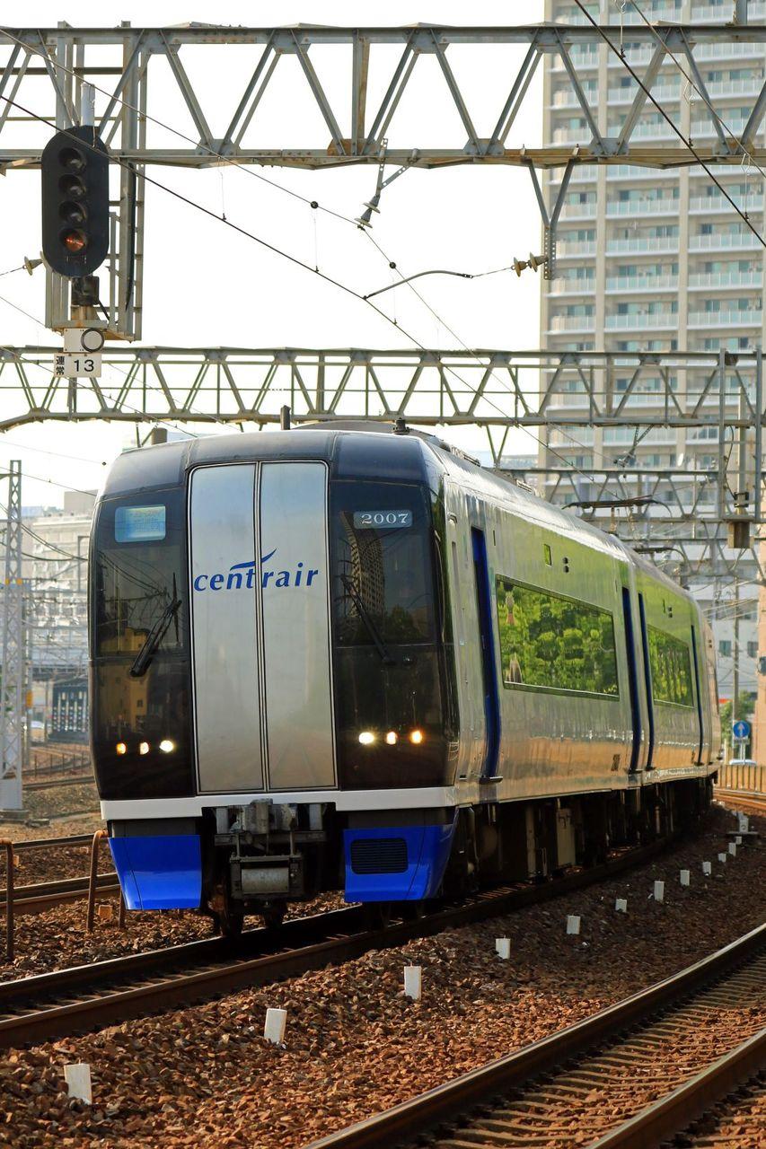 名古屋鉄道 2000系2007F「ミュースカイ」