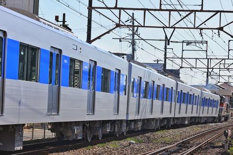 東京都交通局 三田線 6500形6502F 甲種輸送 JR貨物 DE10-1743号機牽引