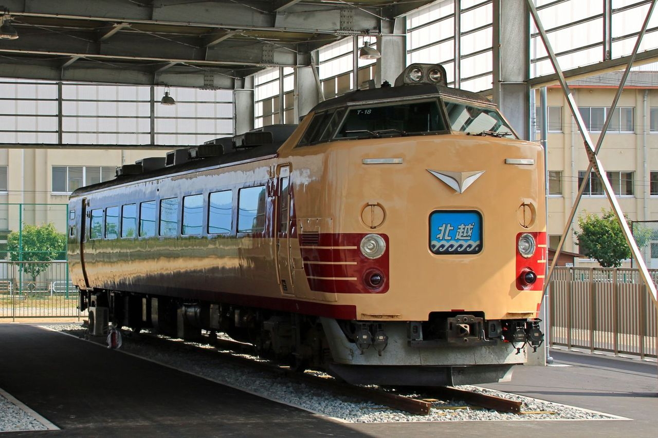 JR東日本 クハ481-1508 国鉄色