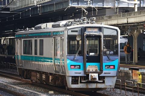 JR西日本 125系F6編成 回送