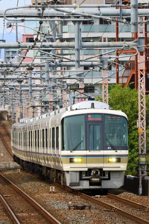 JR西日本 221系NB801編成