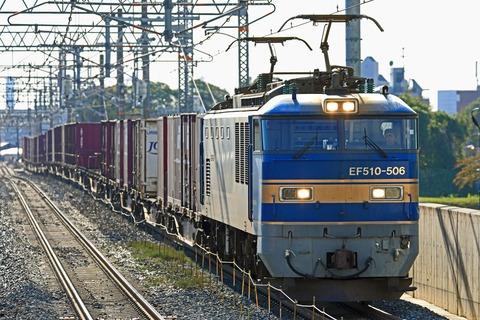 JR貨物 EF510-506号機 旧北斗星色