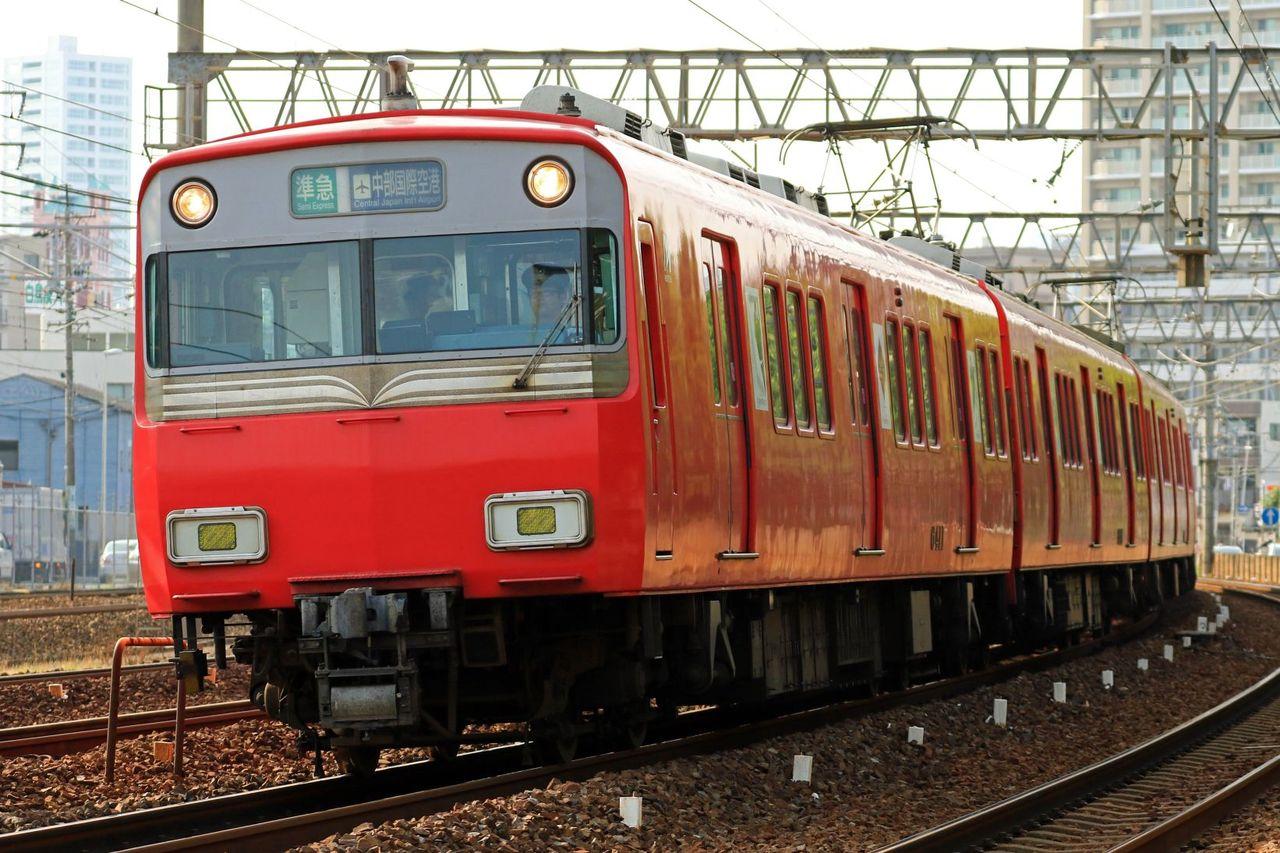 名古屋鉄道 6500系6411F+6000系6822F