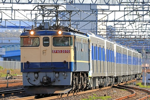 東京都交通局 三田線 6500形6502F 甲種輸送 JR貨物