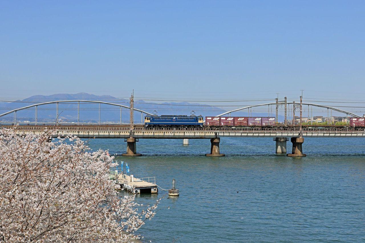 JR貨物 EF65-2065号機 2066号機 国鉄特急色