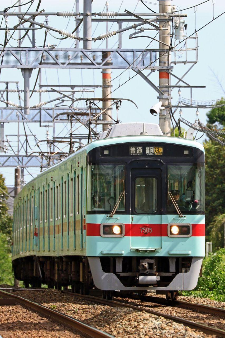 西日本鉄道 7000形7101F+7105F