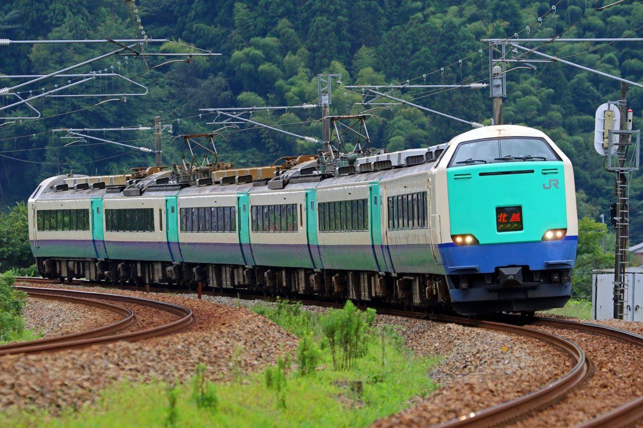 JR東日本 485系3000番台R25編成 「北越」