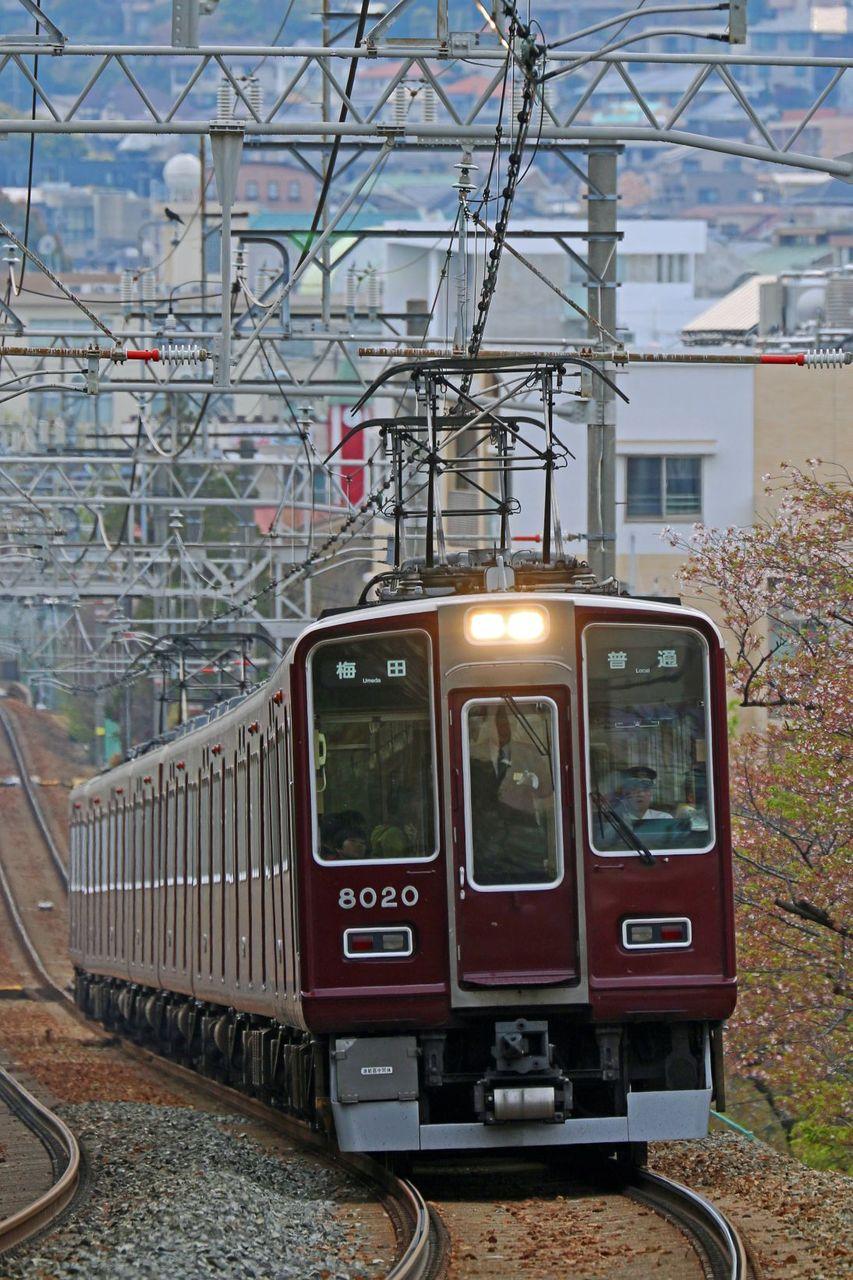阪急電鉄 8000系8020F