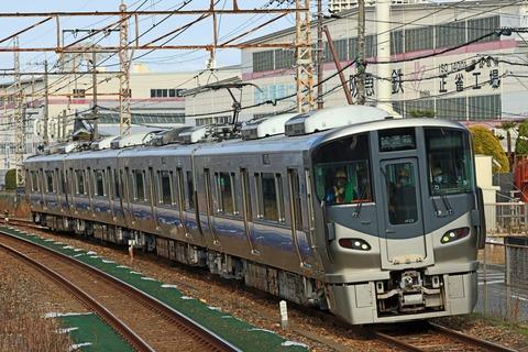 JR西日本 225系5100番台 HF436編成 吹田構内試運転