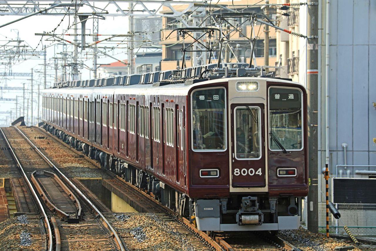 阪急電鉄 8000系8004F