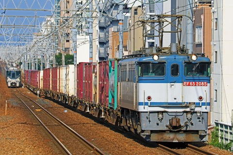 JR貨物 EF65-2085号機 二色更新色