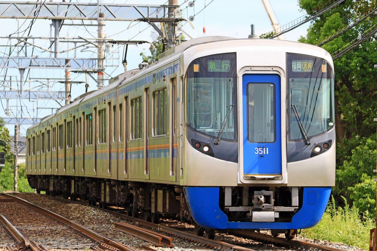 西日本鉄道 3000形3011F