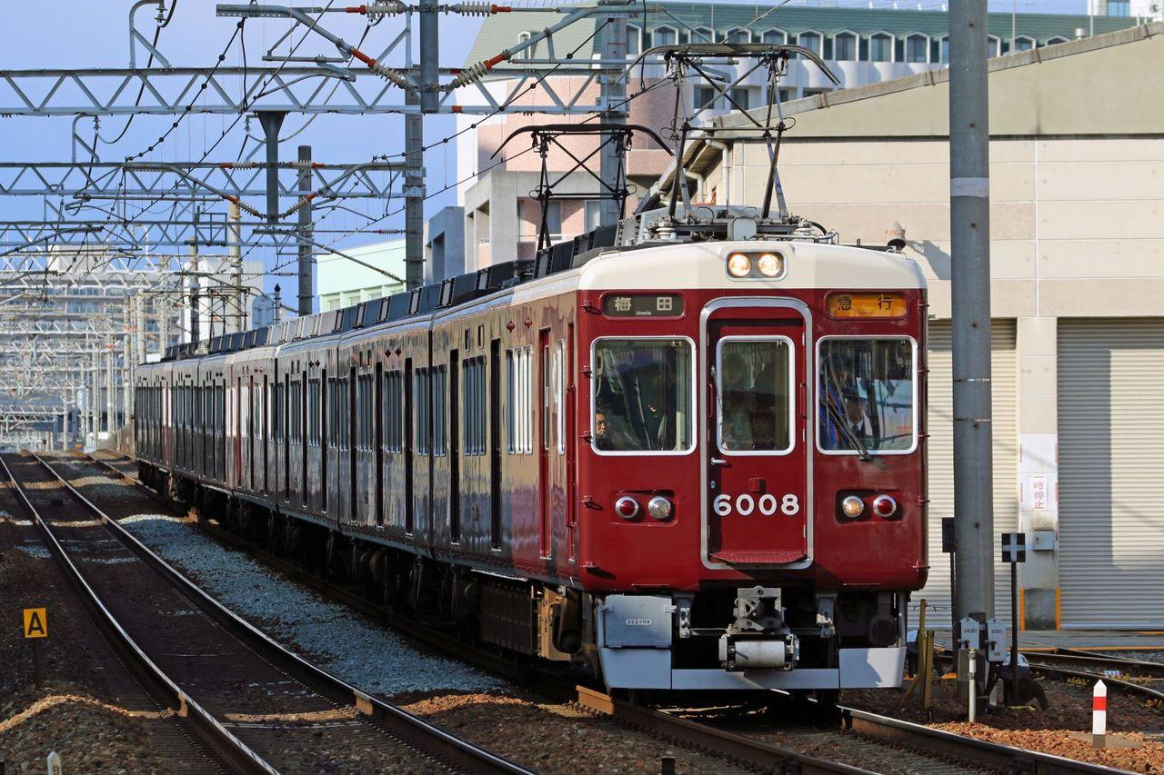 阪急電鉄 6000系6008F