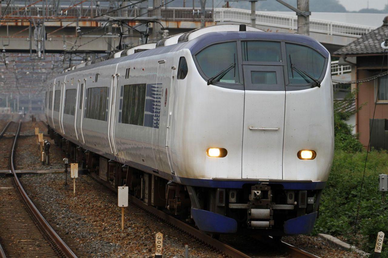 JR西日本 281系 HA608編成