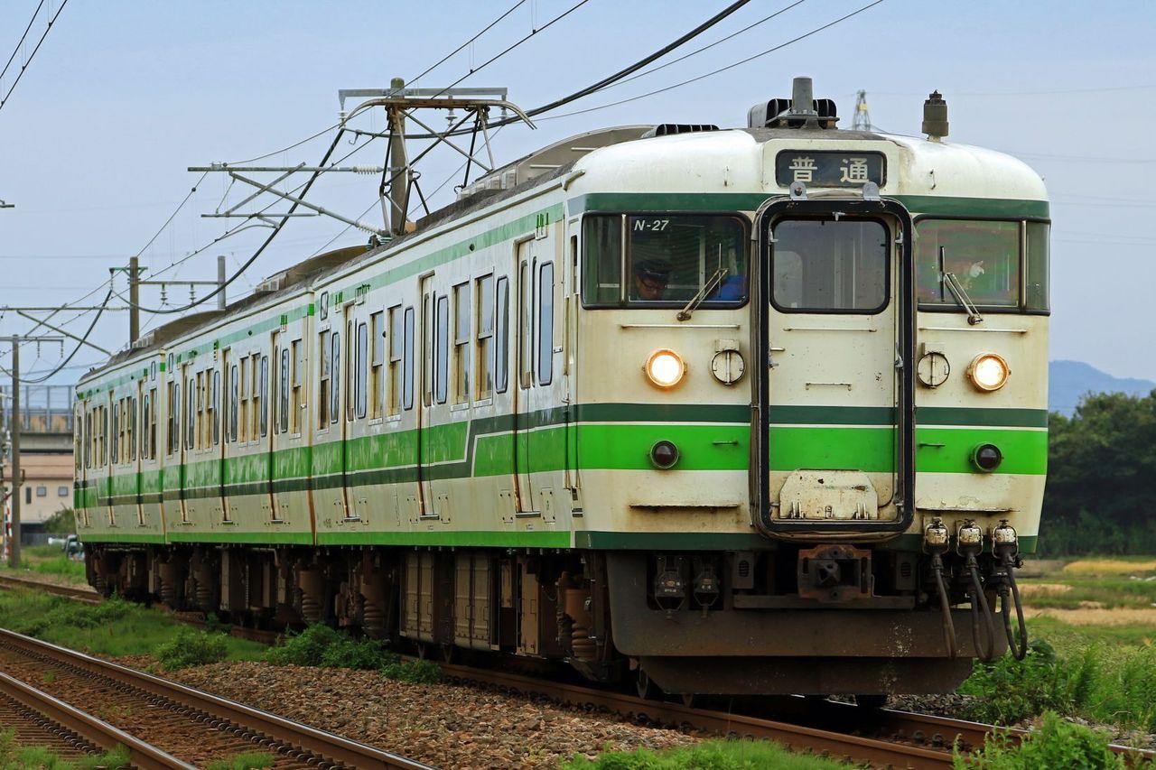 JR東日本 115系N27 新潟二次色