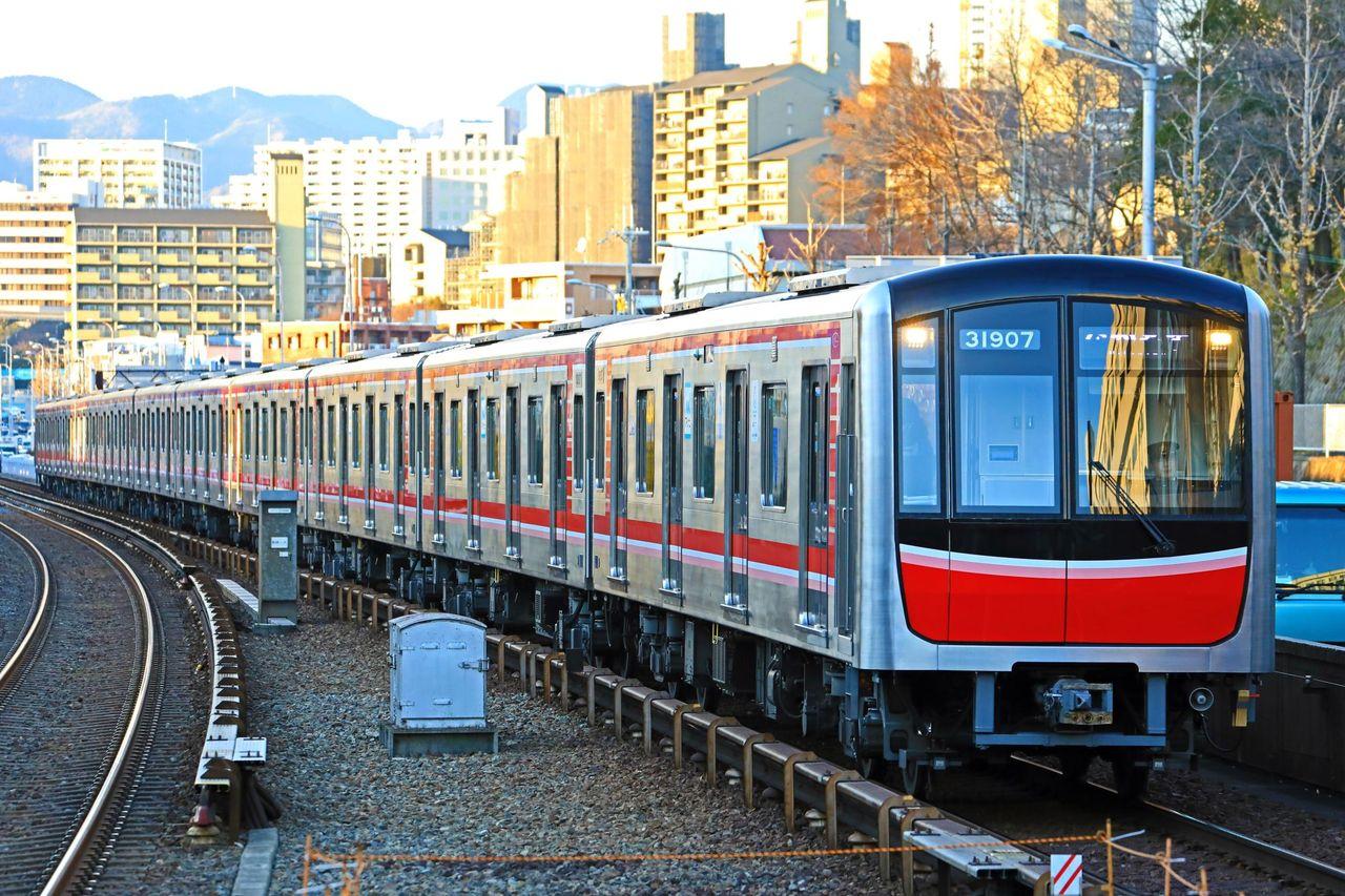 阪市営地下鉄 御堂筋線30000系第7編成31607F