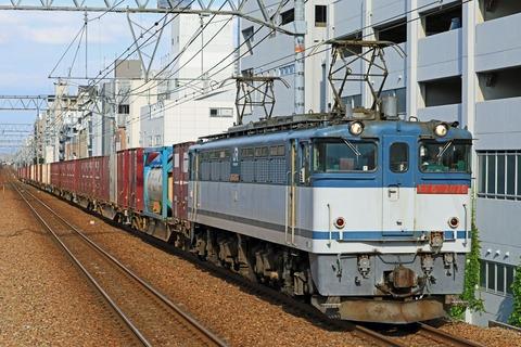 JR貨物 EF65-2076号機 二色更新色