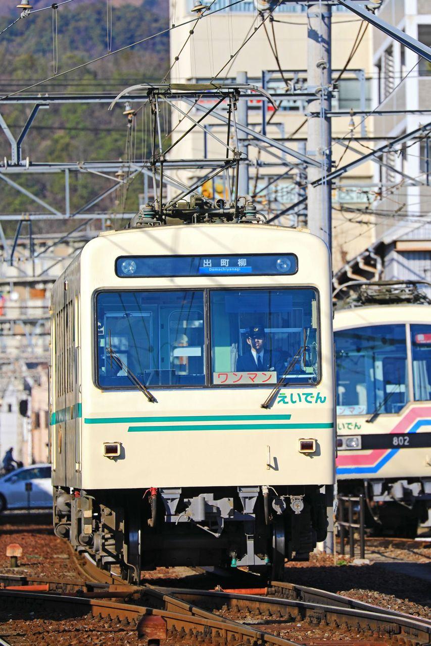 叡山電鉄 700系デオ710形711号車