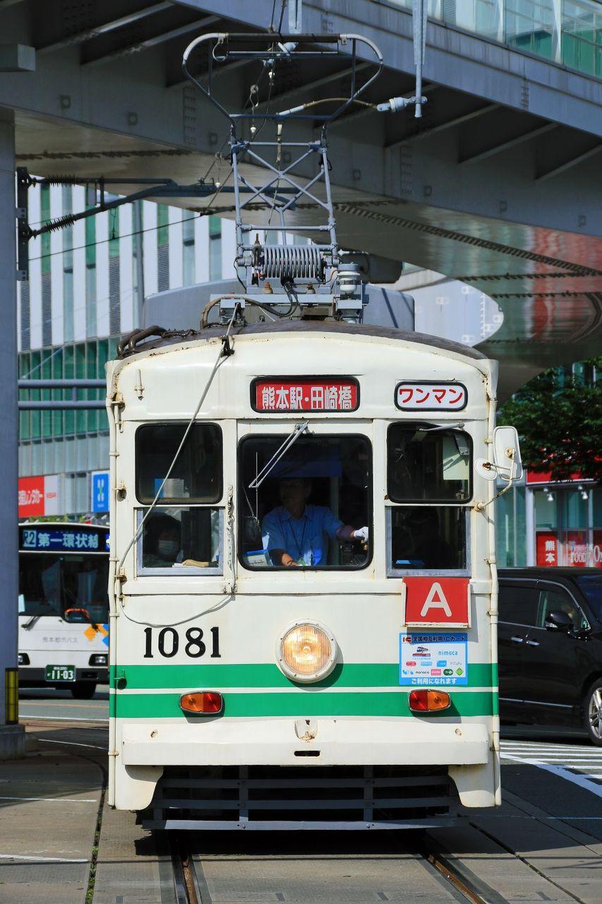 熊本市交通局 1080形1081標準色