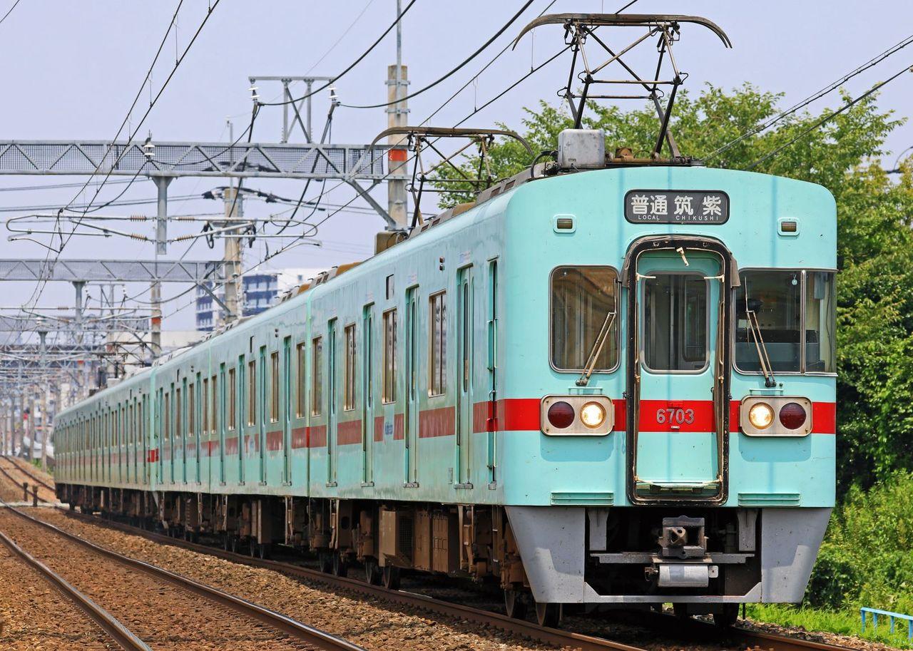 西日本鉄道 6000形6703F+6002F