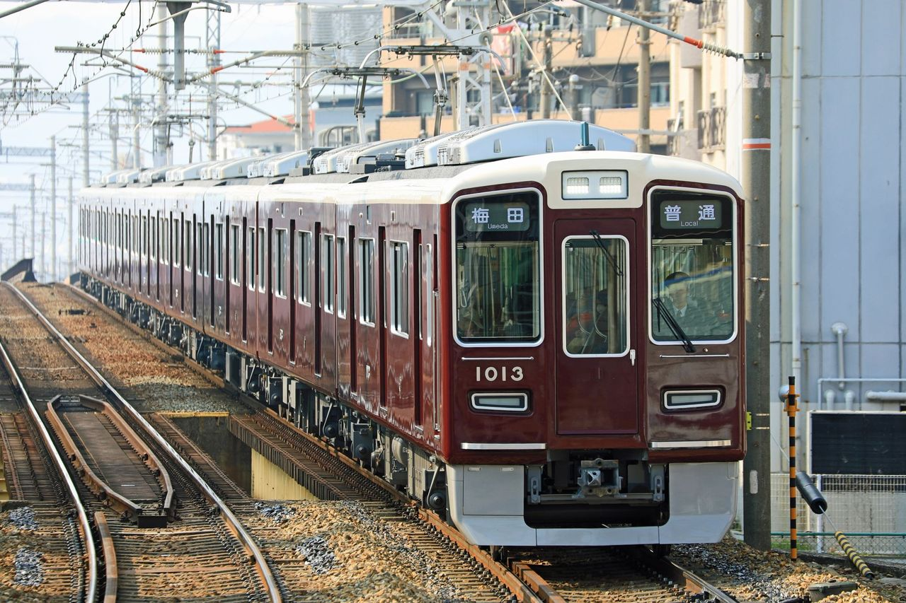 阪急電鉄 1000系1013F
