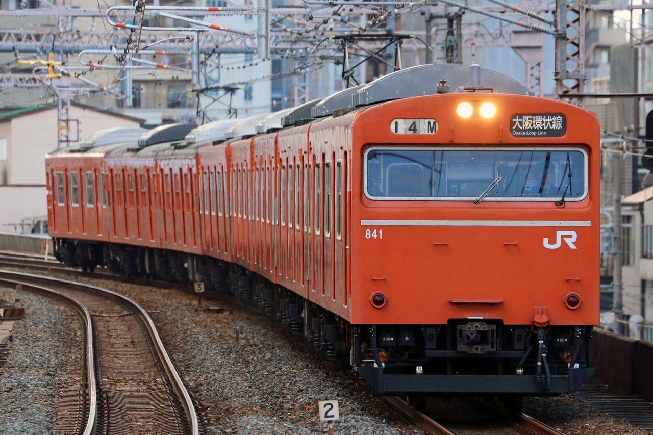 JR西日本 103系LA3編成