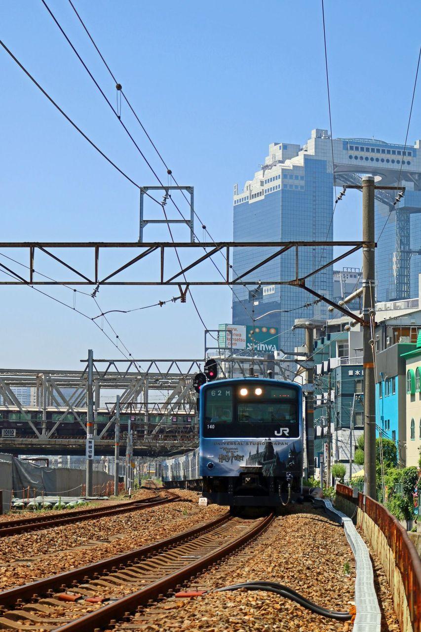 JR西日本 201系LB15編成 USJ直通快速 臨時列車