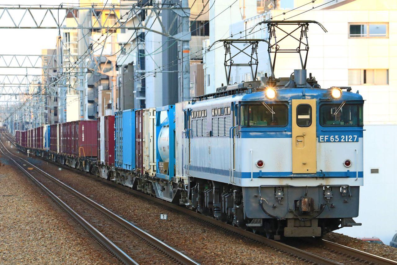 JR貨物 EF65-2127号機 広島更新色