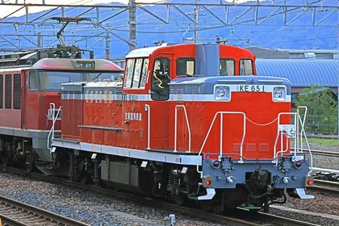 衣浦臨海鉄道 KE65-1号機 甲種輸送 EF510-15号機牽引