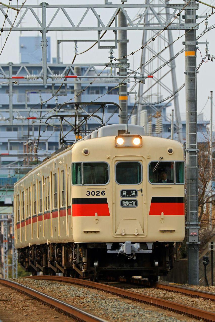 山陽電気鉄道 3000系3026F